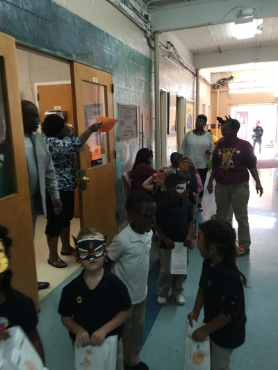 UPCE HOSTS ITS OCTOBER PBIS ACTIVITY